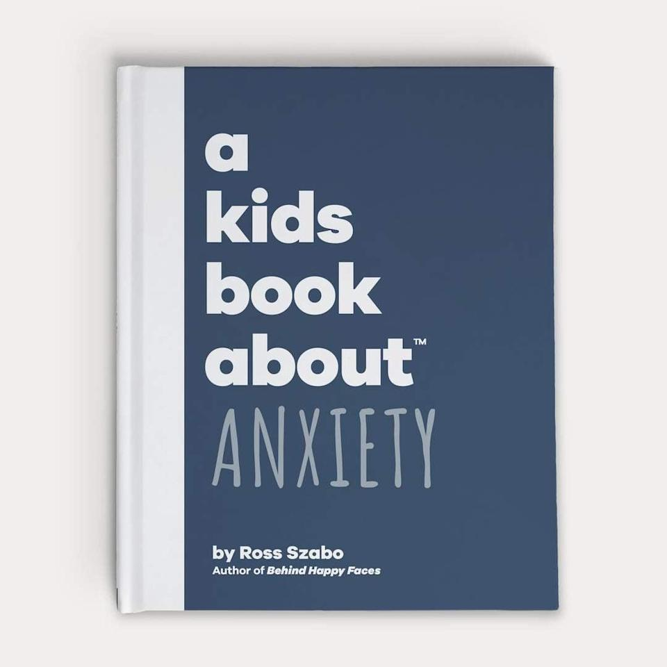 "<p>Leaving out helpful resources in your child's calming corner is key. Start with <strong><a href=""http://akidsbookabout.com/products/a-kids-book-about-anxiety?gclid=EAIaIQobChMIyKPzwuW26wIVPYlbCh3cHAKsEAQYASABEgJ4P_D_BwE"" class=""link rapid-noclick-resp"" rel=""nofollow noopener"" target=""_blank"" data-ylk=""slk:A Kids Book About Anxiety"">A Kids Book About Anxiety</a></strong> ($20) and build your library from there. </p>"