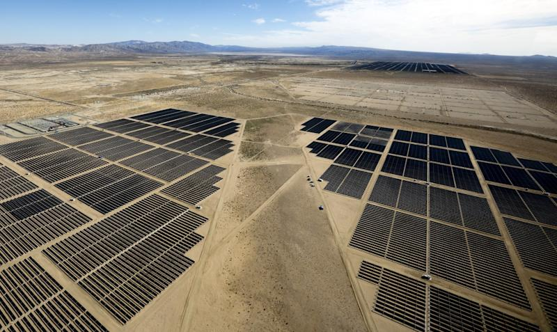 Kern County solar farm