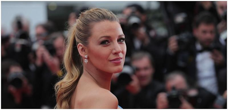 Blake Lively poses for the camera.