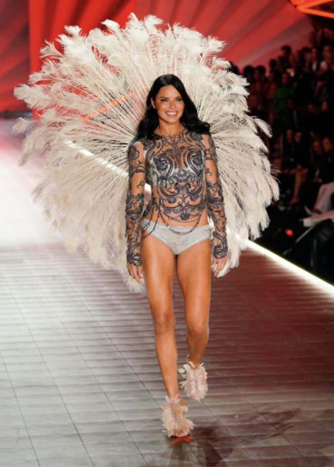 <p>Adriana Lima. <em>[Photo: Getty]</em> </p>