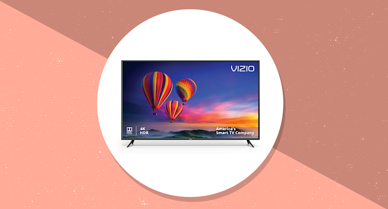Save $568 on this VIZIO 70-inch 4K TV—awesome for sports and video games. (Photo: Walmart/Yahoo Lifestyle)