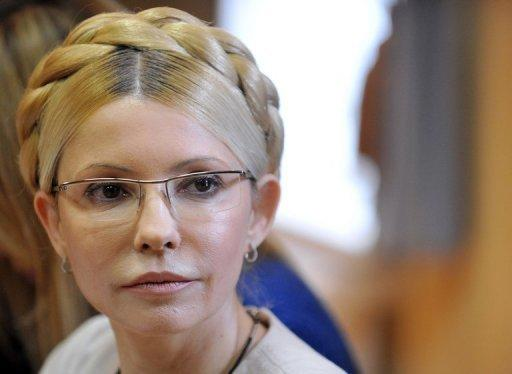 """Ukraine's ambassador to London on Friday criticised a decision by British ministers not to attend group stage games of Euro 2012 because of concerns about """"selective justice"""" in Ukraine. Anger is running high across Europe over the treatment of jailed Ukrainian opposition leader Yulia Tymoshenko (pictured)"""