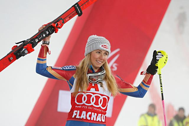 American skier Mikaela Shiffrin became the youngest Olympian to win gold in alpine skiing in 2014.