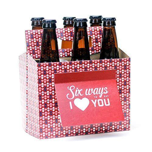 """<p><strong>Beer Greetings</strong></p><p>amazon.com</p><p><strong>$15.95</strong></p><p><a href=""""https://www.amazon.com/dp/B018COT3VW?tag=syn-yahoo-20&ascsubtag=%5Bartid%7C10050.g.1416%5Bsrc%7Cyahoo-us"""" rel=""""nofollow noopener"""" target=""""_blank"""" data-ylk=""""slk:Shop Now"""" class=""""link rapid-noclick-resp"""">Shop Now</a></p><p>Is your partner beer-obsessed? Then this six pack gift box is the way to their heart. It comes complete with an attached gift card.</p>"""
