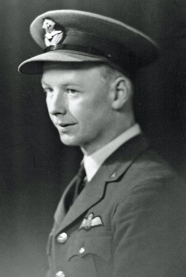 Auxiliary Air Force (AAF) Flight Lieutenant Robert Findlay Boyd