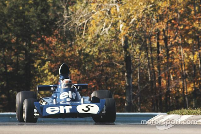 """1973 - Jackie Stewart, Tyrrell-Ford <span class=""""copyright"""">LAT Images</span>"""