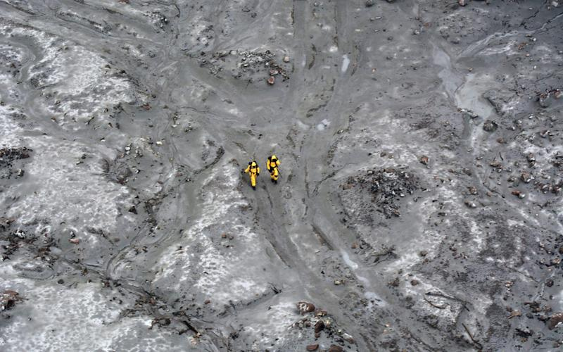 New Zealand Defence Force elite soldiers took part in a mission to retrieve bodies from White Island - AFP