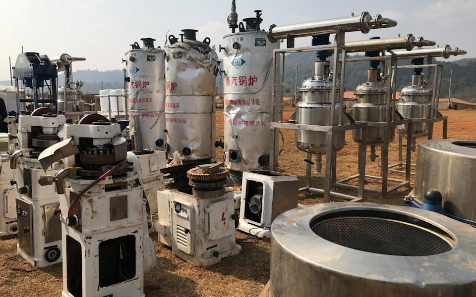 High pressure chemical reactors, and mixers used for manufacturing illicit drugs - REUTERS