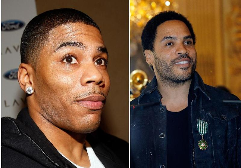 The CMT Music Awards are known for cross-genre mashups and this year will be no different as Lenny Kravitz, right and Nelly prepare to perform. Wednesday night's awards show June 5, 2013 is airing live at 8 p.m. EDT Wednesday from Bridgestone Arena in Nashville, Tenn. Neither artist has appeared on the show before.