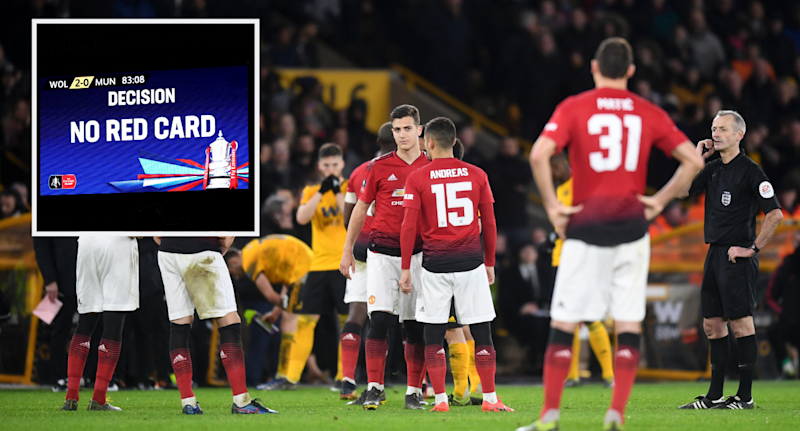 FA Cup:VAR replays to be shown on big screen during s/finals