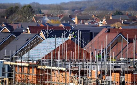 UK housebuilding - Credit:  Joe Giddens/ PA