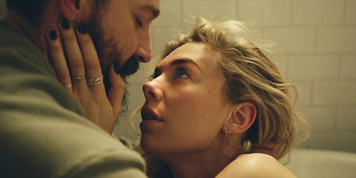 "Shia LaBeouf and Vanessa Kirby in ""Pieces of a Woman,"" coming to Netflix on Jan. 7, 2021."