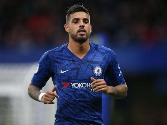 Emerson Palmieri has struggled to make an impact at Stamford Bridge (Getty)