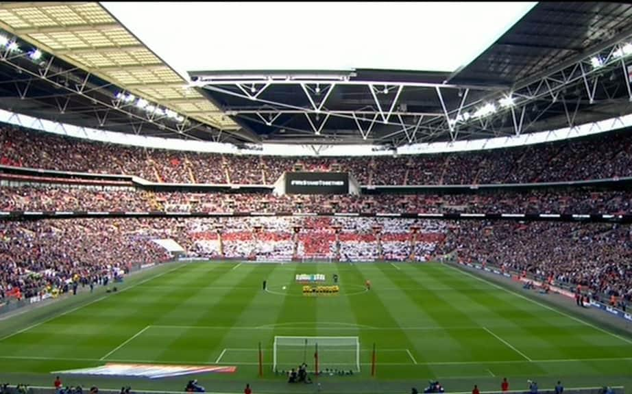 Wembley - Credit: ITV