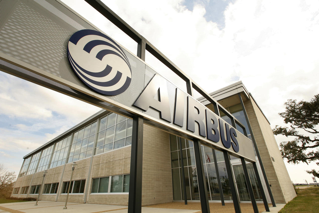FILE - This Feb. 29, 2008 file photo shows the Airbus North America Engineering Center in Mobile, Ala. European plane maker Airbus intends to build its first U.S. plant in Mobile, Ala., a person with knowledge of its plans told The Associated Press on Wednesday, June 27, 2012. (AP Photo/Mobile Register, John David Mercer) MAGS OUT