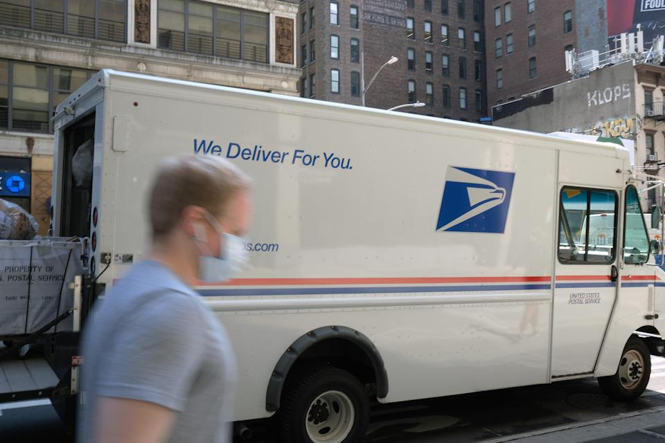 """Starting Friday, the U.S. Postal Service will employ """"new service standards"""" that will result in slower delivery for mail traveling long distances, such as from New York to California."""