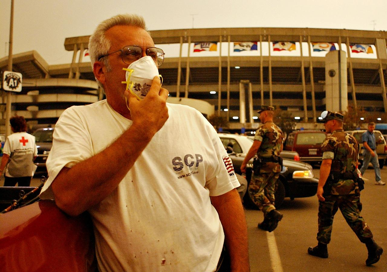 <p>San Diego County faced a state of emergency as wildfires ravaged the area. The San Diego Chargers had to move their game against the Miami Dolphins to Sun Devil Stadium in Tempe, Arizona. </p>