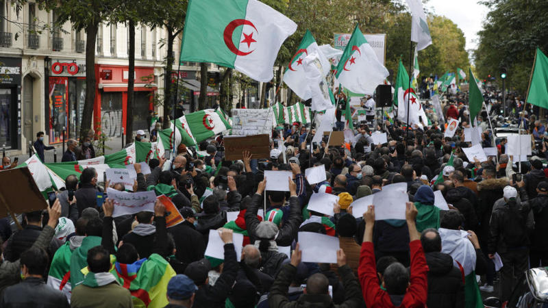 Algeria to try 18 people who participated in an anti-government protest: lawyer