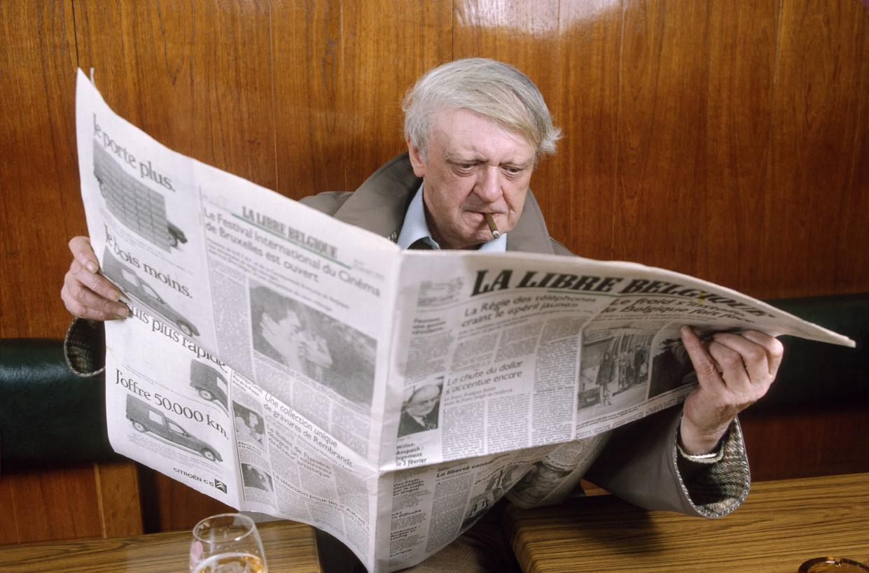 UNSPECIFIED - CIRCA 1987:  Anthony Burgess in January, 1987 - Author of
