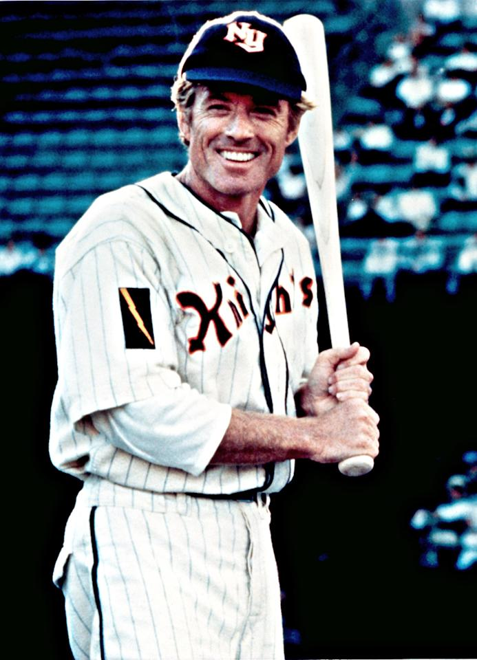 """<b>Right Field: Roy Hobbs </b>(Robert Redford) in """"The Natural"""" -- is it too much to ask for Hobbs in his prime? Dare to dream, but even if he's not """"<a target=""""_blank"""" href=""""http://www.youtube.com/watch?v=4j0C6pG5I8w"""">the best that ever was</a>,"""" he's still way good enough to make this squad."""