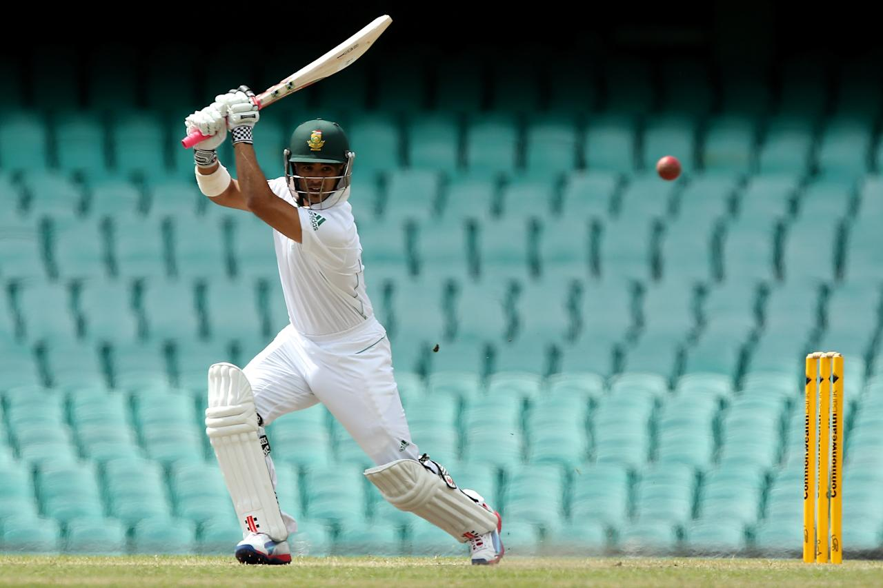 SYDNEY, AUSTRALIA - NOVEMBER 04:  JP Duminy of South Africa bats during day three of the International Tour Match between Australia A and South Africa at Sydney Cricket Ground on November 4, 2012 in Sydney, Australia.  (Photo by Chris Hyde/Getty Images)