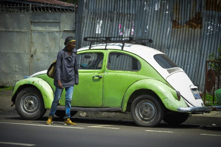 Beetles became a common sight in Addis Ababa under former emperor Haile Selassie (AFP Photo/MICHAEL TEWELDE)