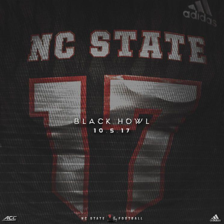 NC State unveils special  Black Howl  uniforms for Louisville game ... 212e05764