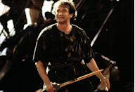 """<p><strong>Netflix's Description:</strong> """"Peter Pan, now grown up and a workaholic, must return to Neverland to save his kids from the clutches of vengeful pirate Captain Hook.""""</p> <p><a href=""""https://www.netflix.com/title/600346"""" class=""""link rapid-noclick-resp"""" rel=""""nofollow noopener"""" target=""""_blank"""" data-ylk=""""slk:Stream Hook on Netflix!"""">Stream <strong>Hook</strong> on Netflix!</a></p>"""