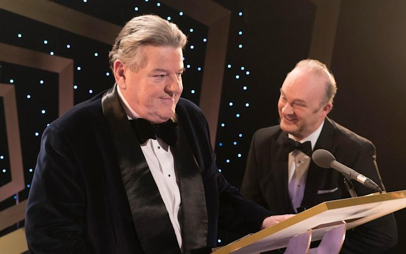 Robbie Coltrane and Tim McInnerny play a once beloved comedy duo - Channel 4