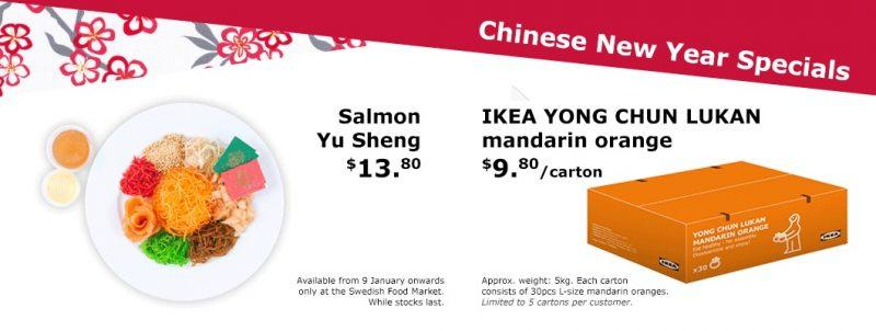 "<p>In lieu of Chinese New Year, IKEA Singapore will be launching Chinese New Year specials such as dinnerware, plants and food! These items stay true to IKEA's brand of having quality products at reasonable prices. One festive highlight is the Salmon Yu Sheng ($13.80), available from 9 January onward. For a simple and no frills lo hei, IKEA is the place […]</p> <p>The post <a rel=""nofollow"" rel=""nofollow"" href=""http://sethlui.com/ikea-singapore-cny-goodies/"">Now You Can Grab Chinese New Year Goodies While Shopping At IKEA Singapore For New Dinnerware</a> appeared first on <a rel=""nofollow"" rel=""nofollow"" href=""http://sethlui.com"">SETHLUI.com</a>.</p>"
