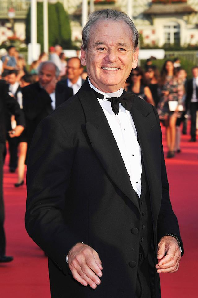 """Bill Murray turns 61. Francois Durand/<a href=""""http://www.gettyimages.com/"""" target=""""new"""">GettyImages.com</a> - September 2, 2011"""