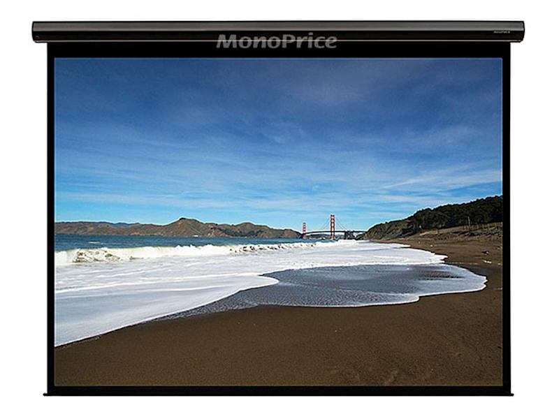 Monoprice 120in HD Motorized Projection Screen