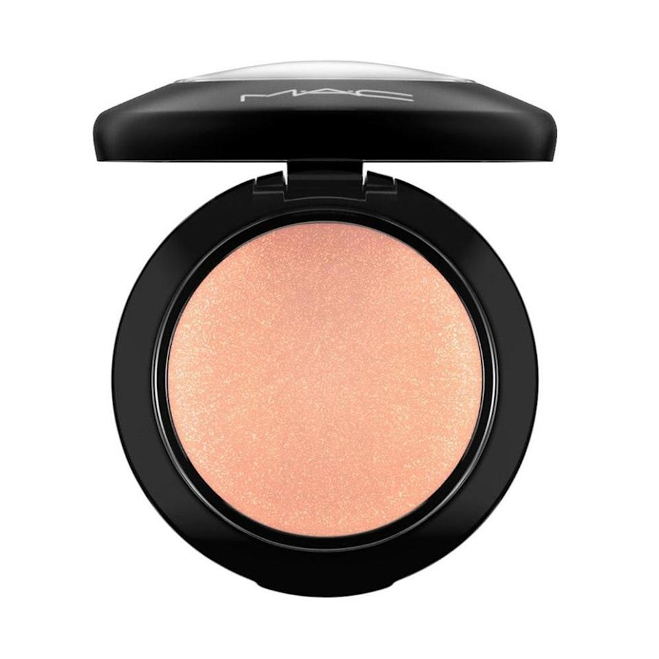 """<p><strong>Peach</strong></p> <p>""""Mineral blushes are great for anyone who is fair to light, as they tend to pack a little less pigment, and the payoff isn't overwhelming,"""" Merino says. He gravitates toward MAC's Mineralize Blush in Warm Soul because """"it's a great neutral tone that adds a soft touch of color and luminosity to the skin."""" Plus, if it's good enough for the <a href=""""https://www.allure.com/story/bruce-grayson-oscar-makeup-kit?mbid=synd_yahoo_rss"""" rel=""""nofollow noopener"""" target=""""_blank"""" data-ylk=""""slk:red carpet"""" class=""""link rapid-noclick-resp"""">red carpet</a>, it'll definitely jazz up your everyday look.</p> <p><strong>$30</strong> (<a href=""""https://shop-links.co/1719112504862301308"""" rel=""""nofollow noopener"""" target=""""_blank"""" data-ylk=""""slk:Shop Now"""" class=""""link rapid-noclick-resp"""">Shop Now</a>)</p>"""