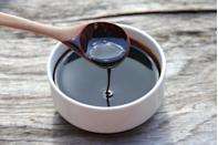 """<p>""""Unsulfured blackstrap molasses is a wonderful <strong>stool oftener</strong>. Take one tablespoon daily on its own or stir it into water or any beverage. It's especially useful for pregnant women as a <a href=""""https://www.prevention.com/food-nutrition/g30856432/foods-to-help-constipation/"""" rel=""""nofollow noopener"""" target=""""_blank"""" data-ylk=""""slk:natural alternative to chemical laxatives"""" class=""""link rapid-noclick-resp"""">natural alternative to chemical laxatives</a>—plus, it contains iron and many<br>other essential vitamins and minerals such as vitamin B6, magnesium, copper, calcium, potassium, manganese, and<br>selenium."""" (Patients with diabetes should avoid molasses.)</p><p><em>—Ashita Gupta, M.D., assistant professor of endocrinology, diabetes, and bone disease, Icahn School of Medicine at Mount Sinai Hospital</em></p>"""