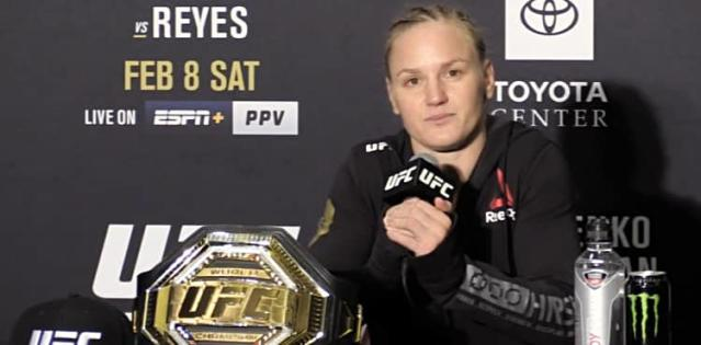 Valentina Shevchenko UFC 247 post-fight