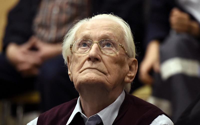 Former SS officer Oskar Groening exhausted the legal appeals process in December  - AFP
