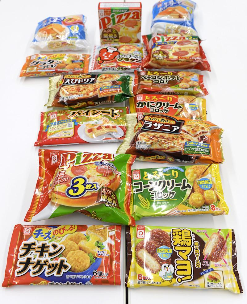 Over 350 in Japan sickened by tainted frozen food
