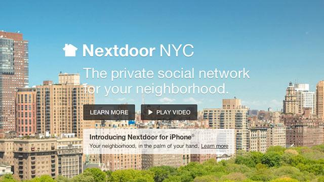 NYC Signs On for Nextdoor's Social Network Updates