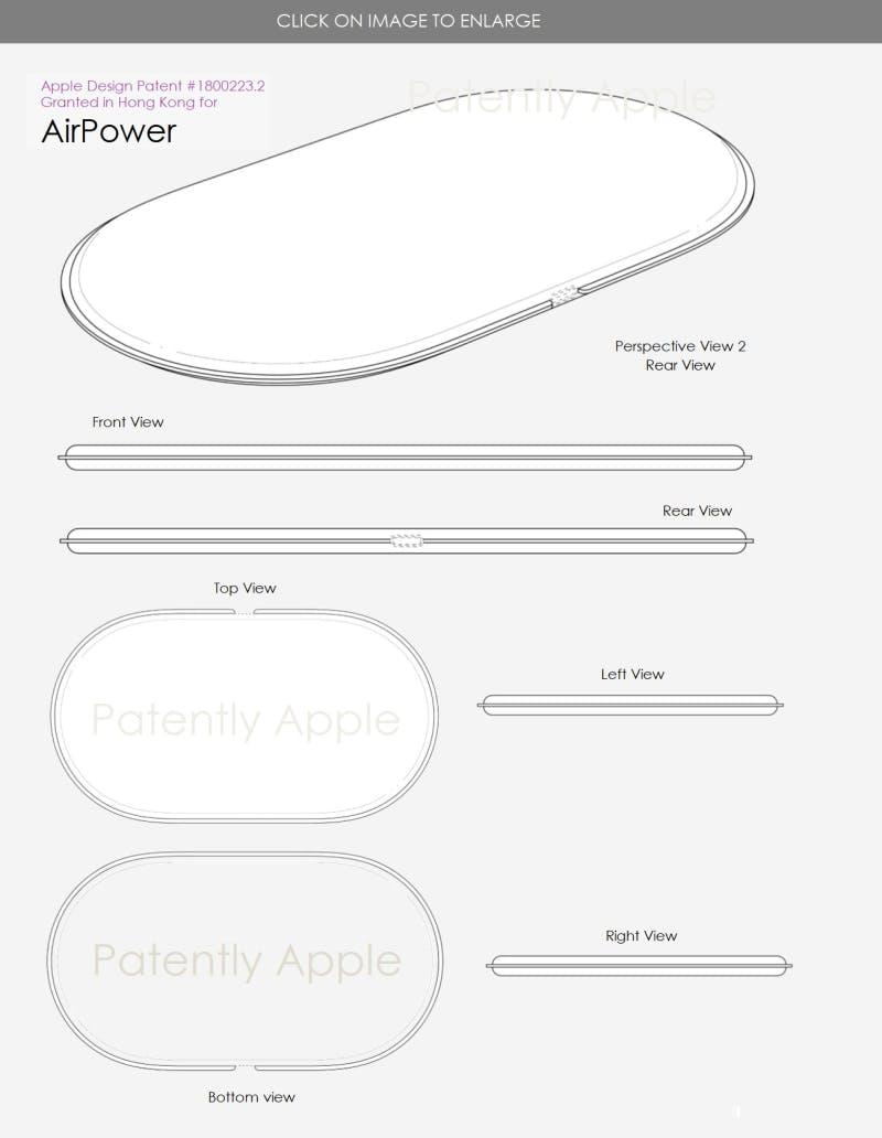 Apple Secures Patent For Its Upcoming Airpower Wireless Charger Airsuperiority Weekly Digital Timer Circuit Designs Of Apples Obtained By Patently