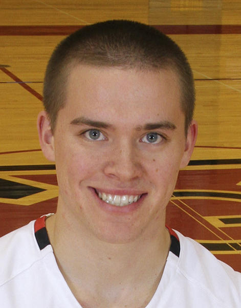 In a photo, date unknown, provided by Grinnell College Athletics, Grinnell basketball player Jack Taylor poses for a photo in Grinnell, Iowa. Taylor, a point guard, scored 138 points for Division III Grinnell against Faith Baptist Bible on Tuesday night, Nov. 20, 2012, in Grinnell, shattering the NCAA scoring record. Grinnell won 179-104. (AP Photo/Grinnell College, Cory Hall)