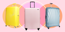"""<p>Holidays are back on and whether you're preparing to jet off for a <a href=""""https://www.cosmopolitan.com/uk/entertainment/travel/g27282282/girls-holiday-airbnb/"""" rel=""""nofollow noopener"""" target=""""_blank"""" data-ylk=""""slk:girls' getaway"""" class=""""link rapid-noclick-resp"""">girls' getaway</a> or a romantic escape, you'll want to make sure you maximise your luggage allowance with a large suitcase that will carry all your holiday essentials in one bag.</p><p>To help you choose the right luggage for you, we've picked 15 of our favourite large suitcases for every budget, whether you're looking for one under £100 or fancy splurging on something stylish that's made to last.</p><p>From one of the lightest suitcases made to foldaway luggage that won't take up too much space when you're not travelling, these large suitcases will cover all your travel needs.</p><p>Browse our pick of the best large suitcases from our favourite brands, including Away, Eastpak, Revelation! and American Tourister.</p>"""