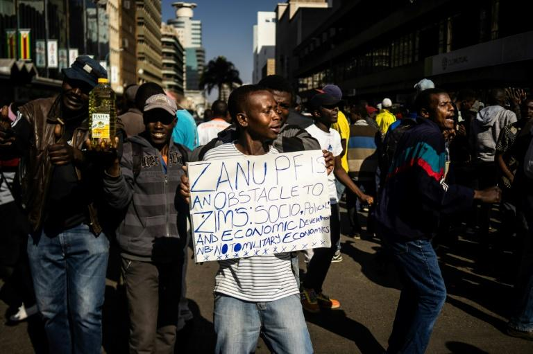 Zimbabweans have been protesting over the ailing economy