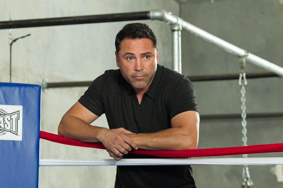 It's still a long way from 2020, but Oscar De La Hoya has already floated around the possibility of running for office.