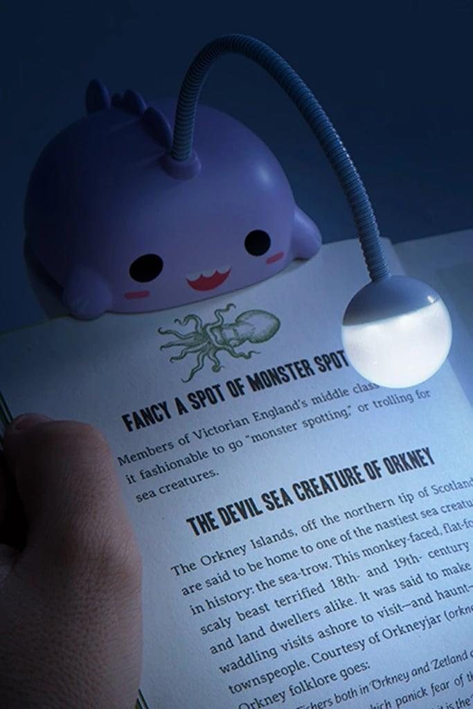 <p>Get this <span>Smoko Anglerfish Booklight</span> ($18) for the person who loves to read in bed. It's beyond adorable.</p>