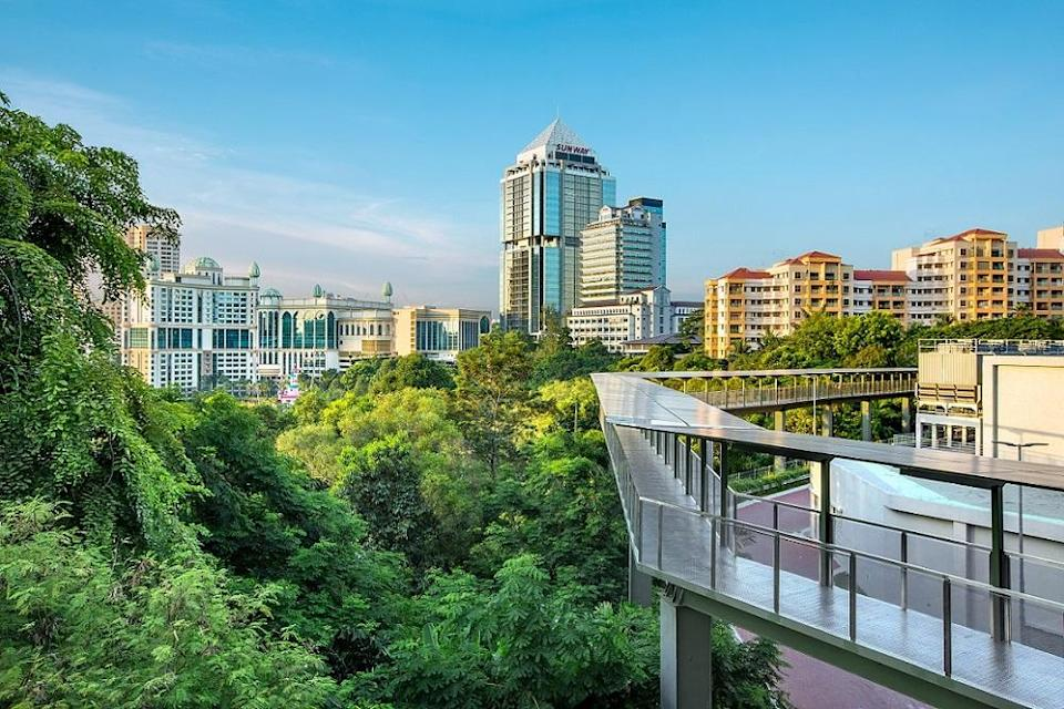 Trees play a vital part in providing respite from the heat by reducing ambient temperatures. — Picture courtesy of Sunway