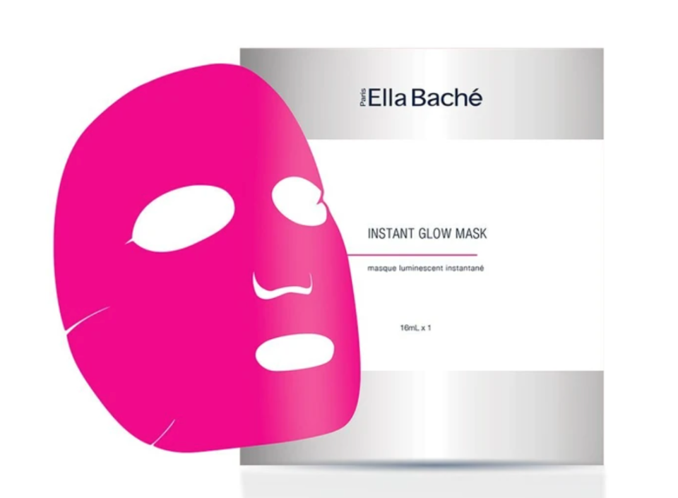 Add this pre-event instant glow mask to her Mother's Day gift. Photo: Ella Bache