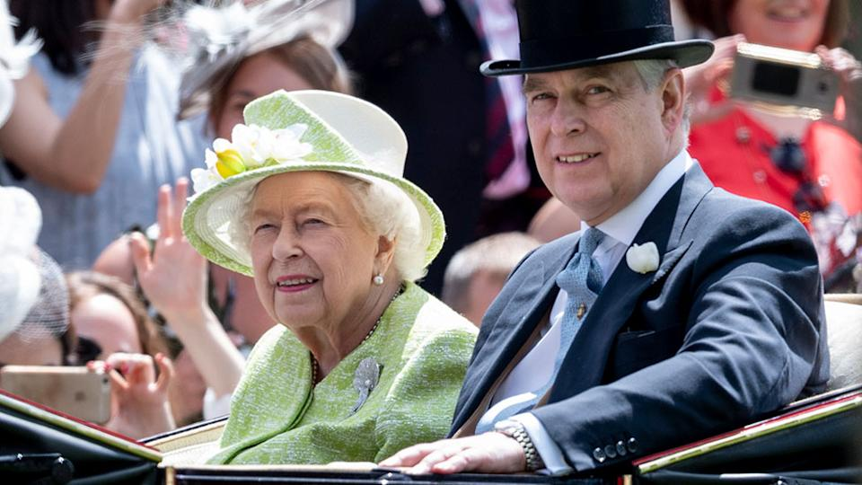 queen and prince andrew
