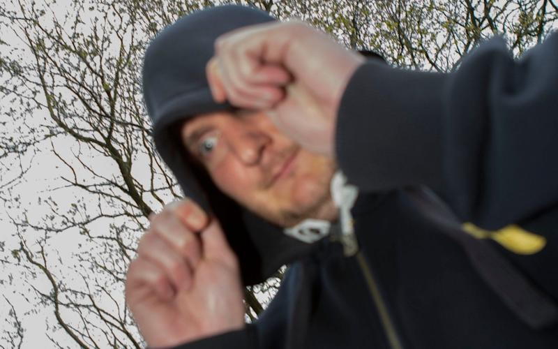 Unemployed Oliver Whiting, 37, took innocent pictures from Facebook accounts of female friends and and placed them on an x-rated website - David McHugh