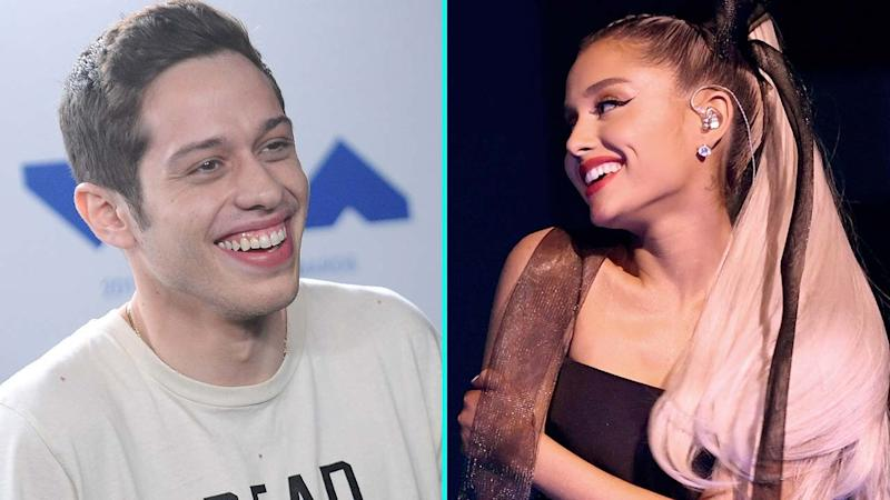 Ariana Grande Says She Knows Her Instagram PDA With Pete Davidson Is 'Annoying'