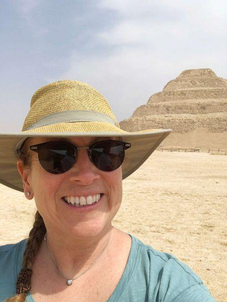 PHOTO: Author Jodi Picoult is pictured in Egypt while researching her latest book, 'The Book of Two Ways.' (Jodi Picoult)